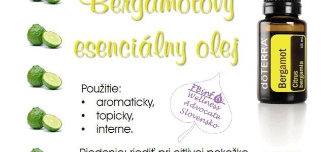 Bergamotový esenciálny olej – Citrus bergamia